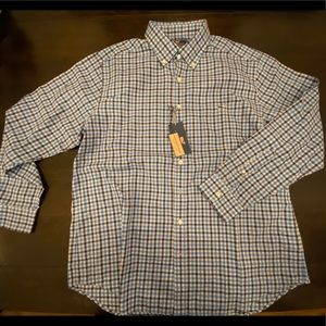 Vineyard Vines Slim Tucker Shirt Heathered Gingham